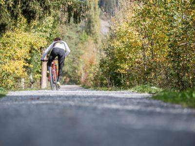 Bike Marathon Streckenbesichtigung in der Val Lumnezia