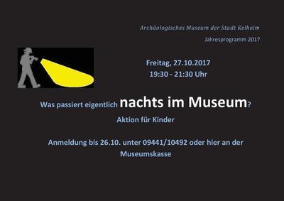 Was passiert eigentlich nachts im Museum?