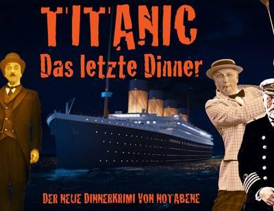 Krimi-Dinner in der Alten Fabrik - Titanic - Die letzten Stunden. (© Alte Fabrik Mühlhofen)