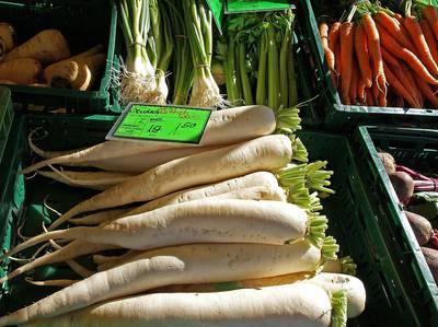 Wochenmarkt. (© Tourist-Information Uhldingen-Mhlhofen)