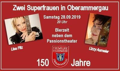 150 Jahre FFW - Zwei Superfrauen in Oberammergau