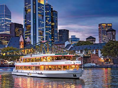 Schiff MS Palladium der Primus-LinieFrankfurter Personenschiffahrt Anton Nauheime. (© Frankfurt River Cruises)