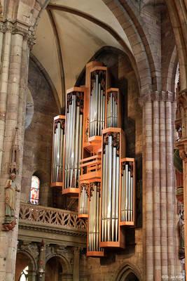 Orgelmusik im Freiburger Münster. (© Dr. Jan Kühle)
