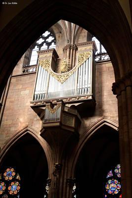 Orgelmusik im Freiburger Münster. © Dr. Jan Kühle