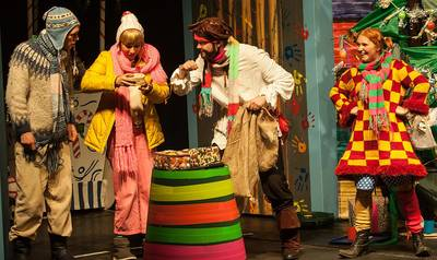 Interner Link zur Veranstaltung: Kindertheater: Pippi plündert den Weihnachtsbaum