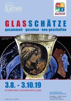 Glaskunstausstellung Glasschätze gesammelt - gesehen - neu geschaffen