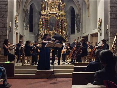 Jugend-Sinfonieorchester Graubünden in Breil-vitg