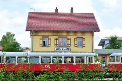 Mit den historischen Schienenbussen ber die Schwbische Alb