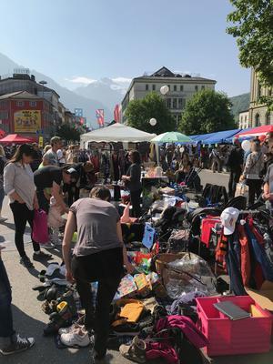 VERSCHOBEN AUF DEN 5.9.2020: Flohmarkt Glarus