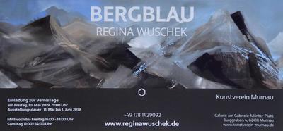 BERGBLAU  Regina Wuschek