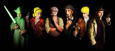 Interner Link zur Veranstaltung: Vollplaybacktheater ?Sherlock Holmes ? und die Liga der außergewöhnlichen Detektive?