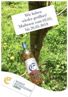 Weingutsausschank Eißele 7. August - 25. August