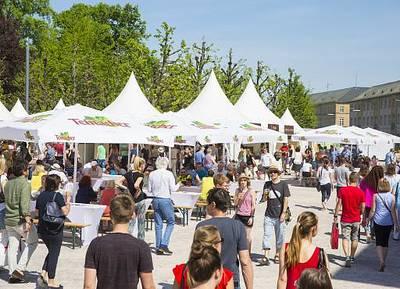 Interner Link zur Veranstaltung: Genussmarkt beim Fest der Sinne