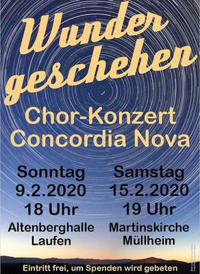 Jahreskonzert von Concordia Nova