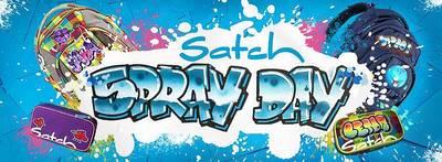 Interner Link zur Veranstaltung: Satch Spray Day Aktion bei PapierFischer
