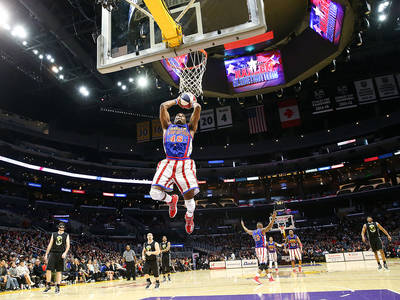 The Harlem Globetrotters  German Tour 2021