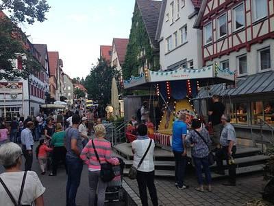 Stadtfest in der Mnsinger Innenstadt vom 27.-28.07.2018