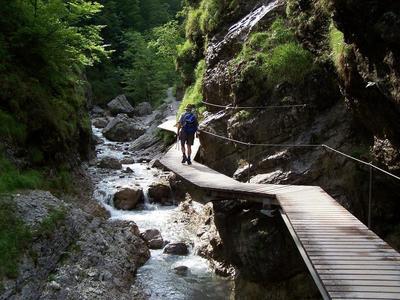 Wanderung in der Griebachklamm mit Anna Prankl