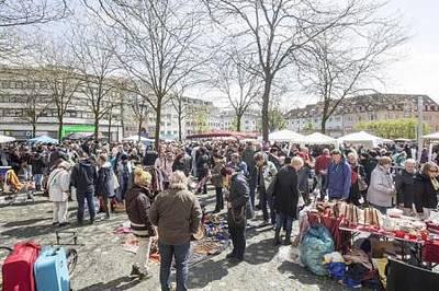 Interner Link zur Veranstaltung: Flohmarkt Stephanplatz