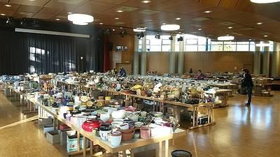 Gebrauchtwarenbörse in der Stadthalle Pfullendorf