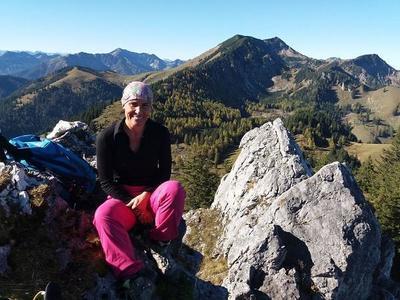 Mittelschwere Bergtour mit Petra
