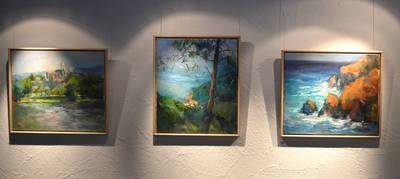Ausstellung Ich nehme mir die Freiheit von Ingrid M. Veit