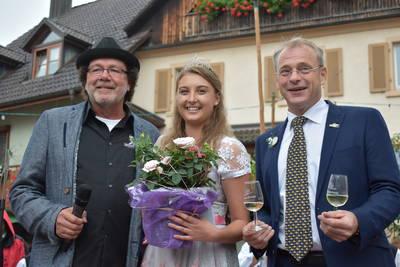 Eröffnung 2018 mit der Markgräfler Weinprinzessin