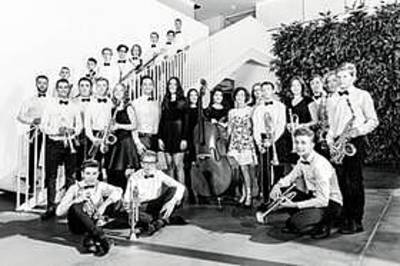 Interner Link zur Veranstaltung: Hebel Big Band meets SWR Big Band - Begegnungskonzert der besonderen Art: Die Big Band des Hebel-Gymnasiums trifft die SWR Big B