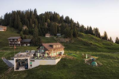 Berner Platte im Berggasthaus Burggeist