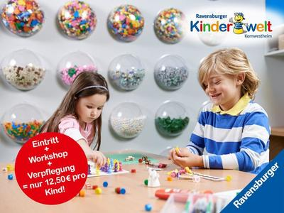 Sommerferien-Programm in der Ravensburger Kinderwelt Kornwestheim