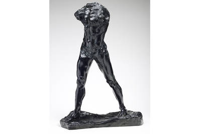 Auguste Rodin, Lhomme qui marche, ca. 1899. (©  Musée Rodin Foto Christian Baraja)