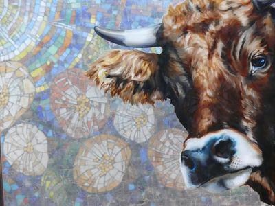 verspiegelt &verspielt     -     Hinterglasmalerei & Mosaik