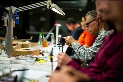 Interner Link zur Veranstaltung: Workshop ?Insektenkunde und Fliegenbindetechnik