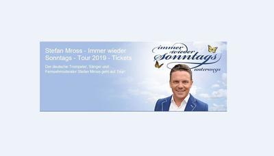 Stefan Mross - immer wieder Sonntags unterwegs
