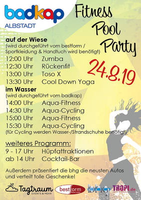 Fitness-Pool-Party