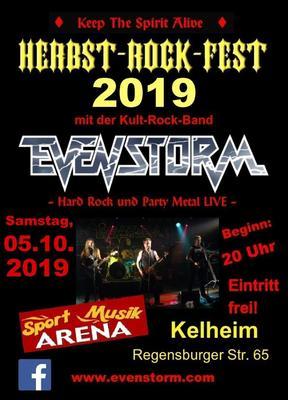 """""""Herbst-Rock-Fest"""" mit EVENSTORM"""