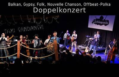 Interner Link zur Veranstaltung: Doppelkonzert mit Taxi Sandanski & Schlagsaite
