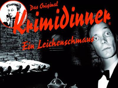 Das Original Krimidinner Ein LeichenschmausWORLDofDINNER GmbH & Co. KG. (© Das Original Krimidinner Ein Leichenschmaus)