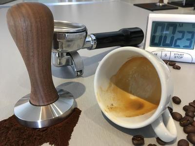 Baristakurs in der Alpenkaffeeschule