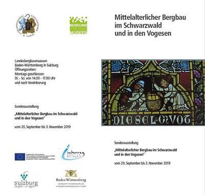 Mittelalterlicher Bergbau im Schwarzwald und in den Vogesen