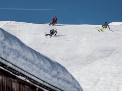 grosser Skitest in BreilBrigels