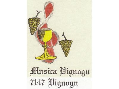 Jahreskonzert der Societad da musica Vignogn in Vignogn