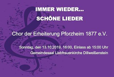 Interner Link zur Veranstaltung: Immer wieder...schöne Lieder