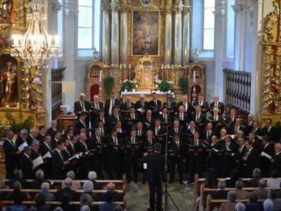 Konzert Chor viril Lumnezia und Bündner Jugendchor in Vella