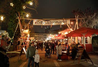 Interner Link zur Veranstaltung: 8. Mittelaltermarkt im Blumenhof
