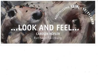 ...Look an Feel... Ausstellung von Carolin Höfler