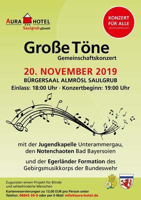 Große Töne mit dem Gebirgsmusikkorps der Bundeswehr