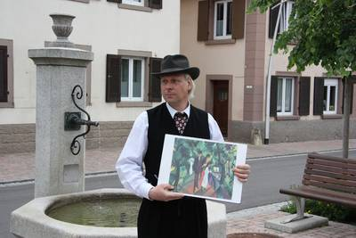 Schauspielerische Stadtführung Mit August Macke durch Kandern - finden ab dem 12. Juli 2020 wieder statt