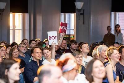 Interner Link zur Veranstaltung: BOT or NOT - Künstliche Intelligenz gegen echte Kreativität