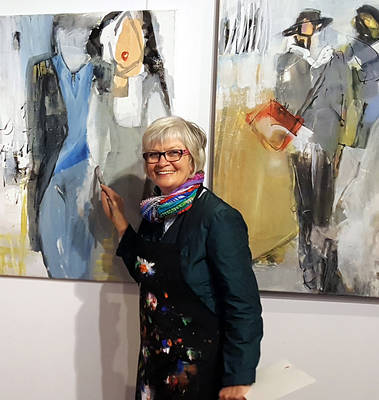 Interner Link zur Veranstaltung: Vernissage der Ausstellung ?Jenny Schäfer ? In Harmonie?